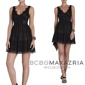 NWT BCBGMAXAZRIA Willa Lace Dress